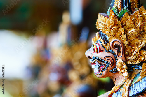 Photo sur Toile Bali Balinese God statue