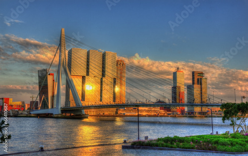 View of Rotterdam - Netherlands