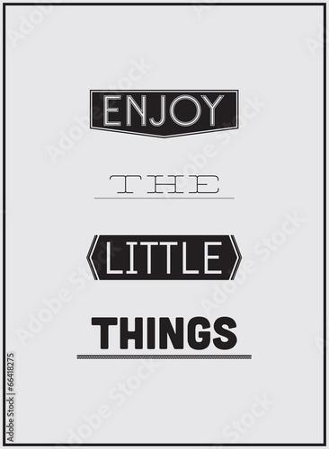 projekt-plakatu-typograficznego-ciesz-sie-do-malej-rzeczy
