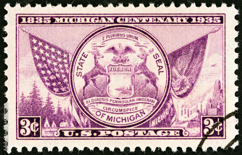 Fotografia  Seal of Michigan (USA 1935)