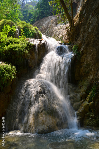 Forest waterfall Eravan, Thailand - 66426648