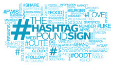 # Hashtag Pound Sign Hash Tag Cloud Number Words Text
