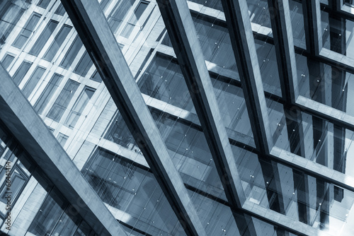 Abstract picture of a modern building Wallpaper Mural