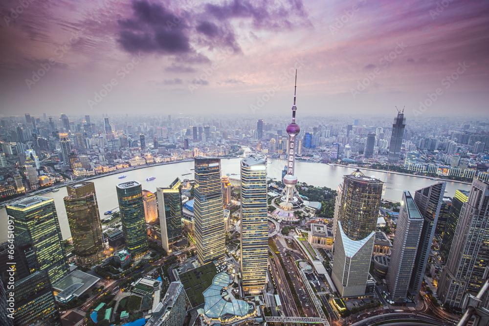 Photo  Shanghai, China Aerial View