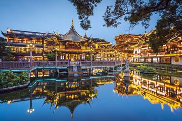 Yuyuan Gardens in Shanghai,...