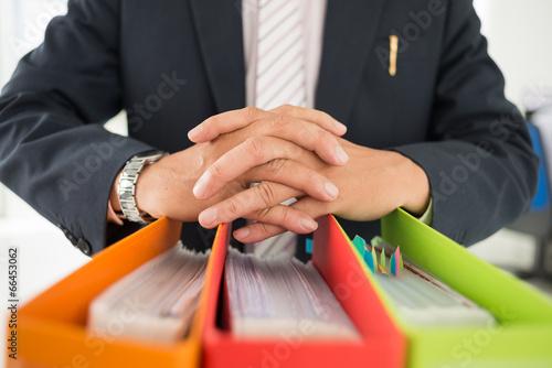 Fototapety, obrazy: Office folders