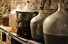 Wine Cellar And The Wine Carboy
