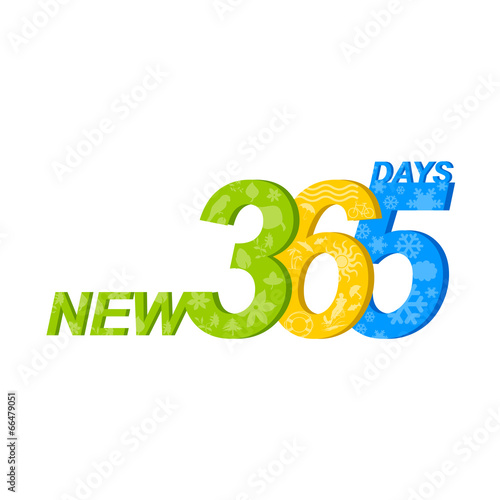 Fotografia  New 365 days