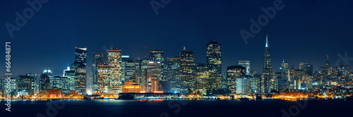 San Francisco skyline Wallpaper Mural