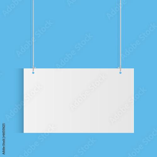 Fotografie, Obraz  Hanging Sign