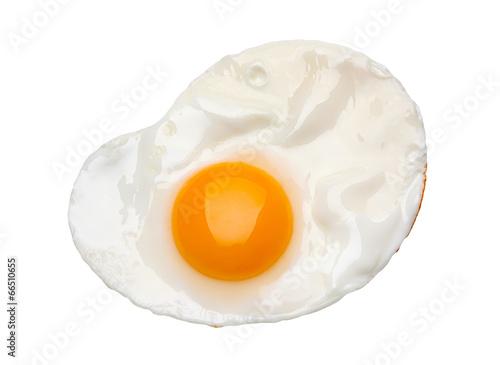 Deurstickers Gebakken Eieren Fried egg