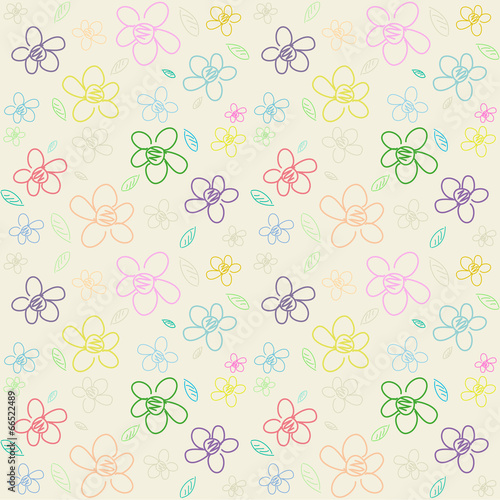 Photo Stands Candy pink Flower Pattern_Color 01