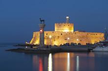 Saint Nikolaos Fortress At Rho...