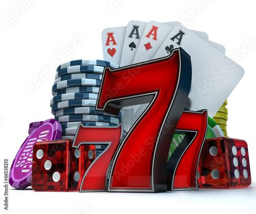 фотография  Gambling background