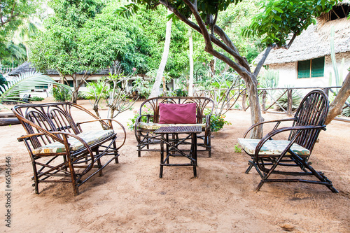 Staande foto Marokko Garden Furniture