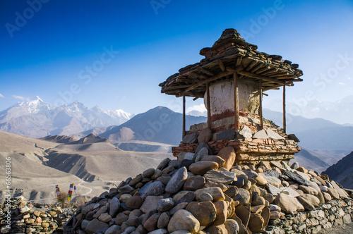 Foto op Aluminium Nepal Nepal, Mustang