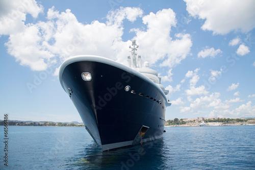 Luxuriöse Yacht - Schiff Bug Fotobehang