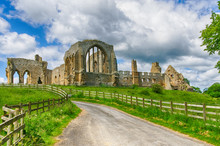 Egglestone Abbey Ruins In Coun...