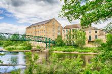 Old Woollen Mills By Footbridg...
