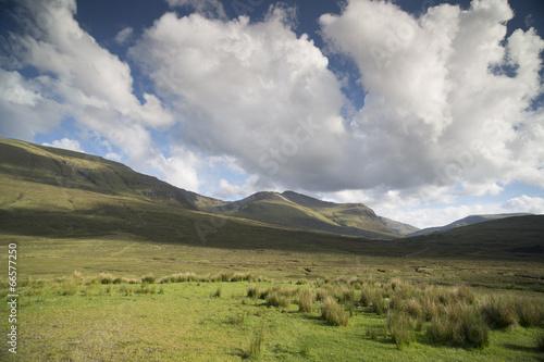 Fototapeta beautiful scottish highlands scenery obraz na płótnie