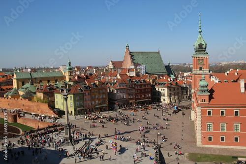 Castle Square, Warsaw, Poland - 66578291