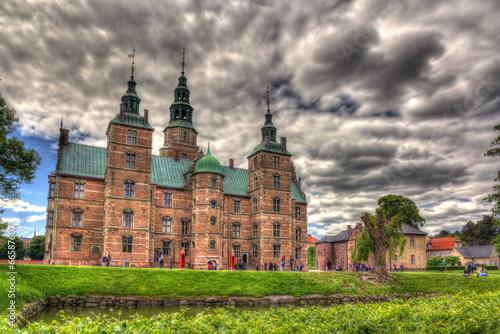 Photo Rosenborg Castle in Copenhagen, Denmark