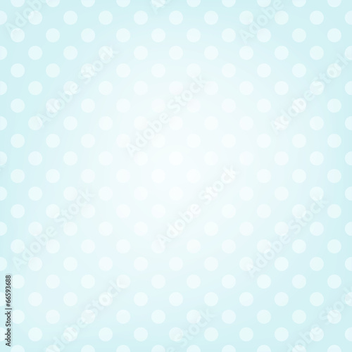 Wall mural - Polka dot background