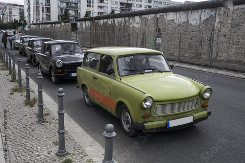 trabant car Canvas Print