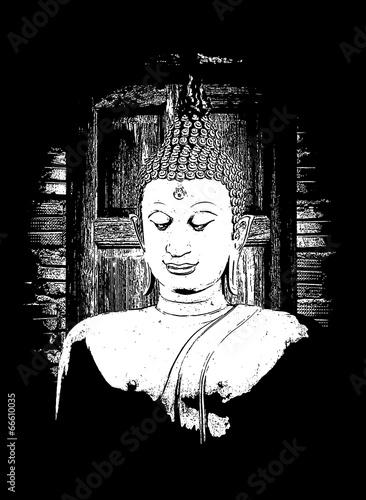 Photo  art  Sculpture Buddha,Buddha statue
