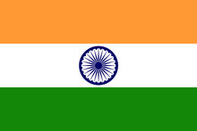 High Detailed Flag Of India