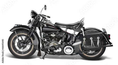 Fototapeta vintage motorbike
