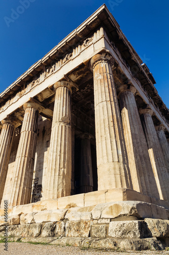 Photo  Hephaestus ancient temple, Athens, Greece