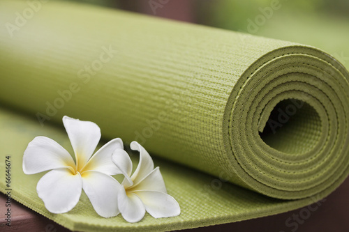 Foto op Canvas School de yoga yoga mat