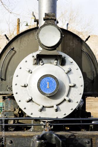 detail of steam locomotive, Colorado Railroad Museum, USA © Richard Semik