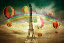 Eifel Coloured Wallpaper
