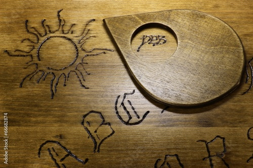 Obraz na plátně  Zeiger auf Ouija