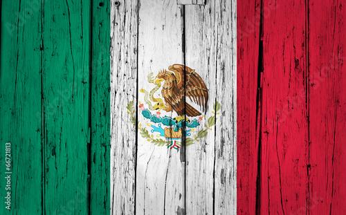 flaga-meksyku-na-drewnie