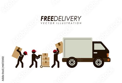 Fotografie, Obraz  Delivery design
