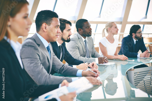 Obraz Business students - fototapety do salonu