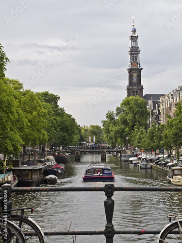 Photo  Amsterdam canal