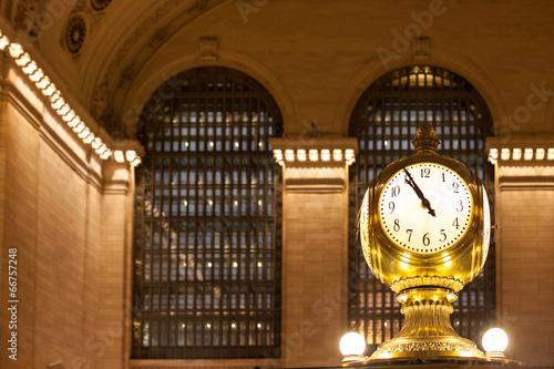 Photo  Grand Central Terminal Clock