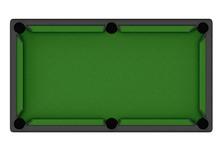 Empty Billiard Table