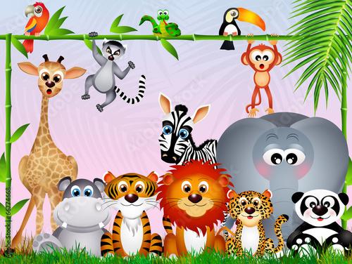 jungle animals #66774668