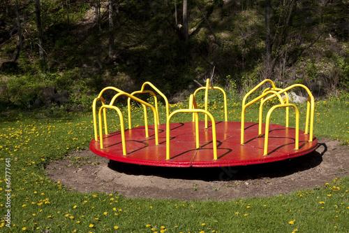 Fotografie, Obraz  Merry-go-round