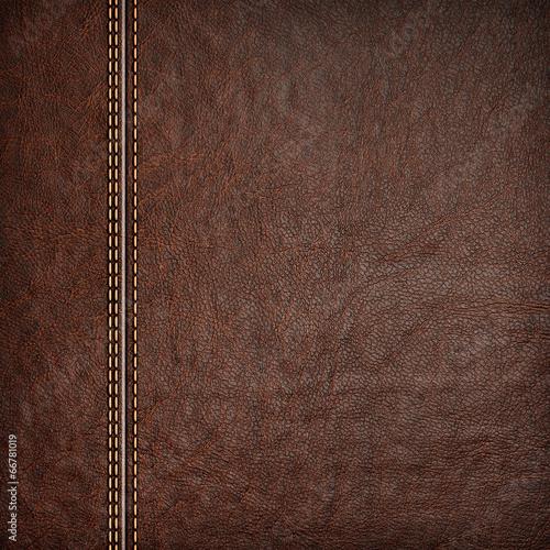 Fotografía  stitched leather background