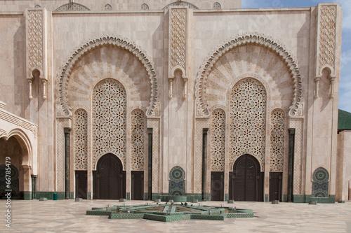Poster Maroc Mosque