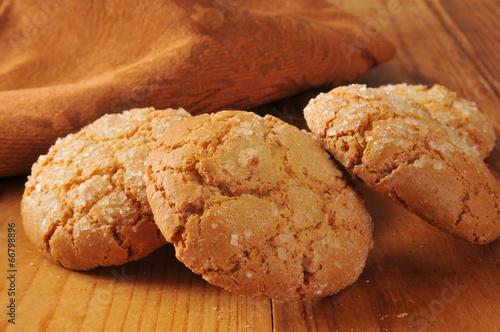 Biscuit Gourmet almond ginger cookies