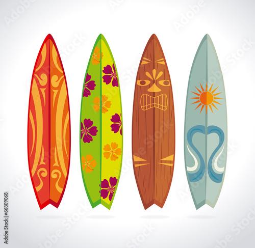 Fotografie, Obraz  Surf design
