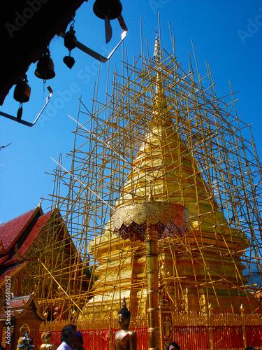 Repair temple north,thailand