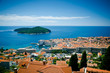Dubrovnik. top view